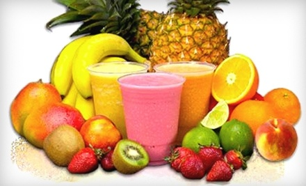 Smart Drinks: $10 Groupon for Fruit Smoothies at 23144 Cinco Ranch Blvd. in Katy - Smart Drinks in Katy