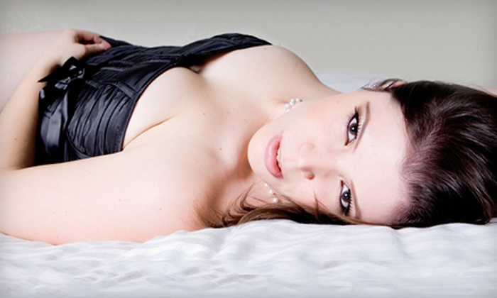 Boudoir Creatives - Mississauga: $125 for 45-Minute Boudoir Photo Shoot with Photo Package at Boudoir Creatives in Mississauga ($440 Value)