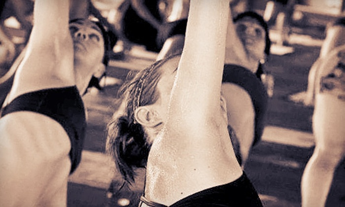 Bikram Hot Yoga Kirkland - Totem Square Mall: 10 Drop-In Bikram Yoga Classes or One Month of Unlimited Classes at Bikram Hot Yoga Kirkland (Up to 80% Off)