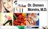 Doreen Moreira, M.D. - Cabin John: $99 for a 60-Minute Wellness Consultation with Doreen Moreira, M.D., in Cabin John, Maryland