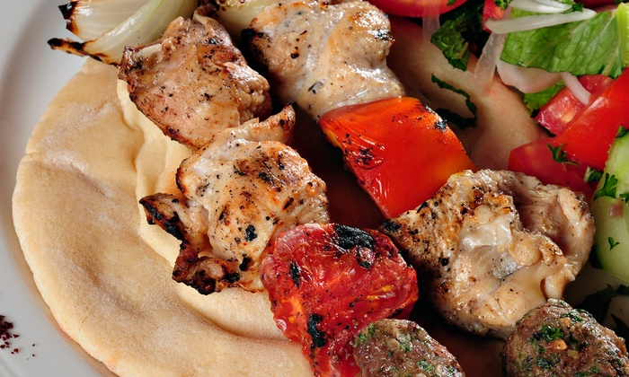 Nour Mediterranean Cafe - Mission Hills South: Mediterranean and Lebanese Cuisine for Dine-In or Take-Out at Nour Mediterranean Cafe (45% Off)