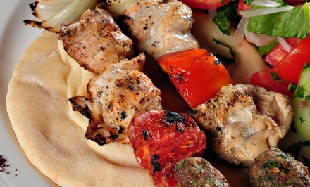 Mediterranean and Lebanese Cuisine for Dine-In or Take-Out at Nour Mediterranean Cafe (40% Off)