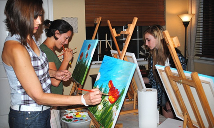Blank Canvas - Thousand Oaks: $20 for a BYOB Painting Class at Blank Canvas in Westlake Village ($40 Value)