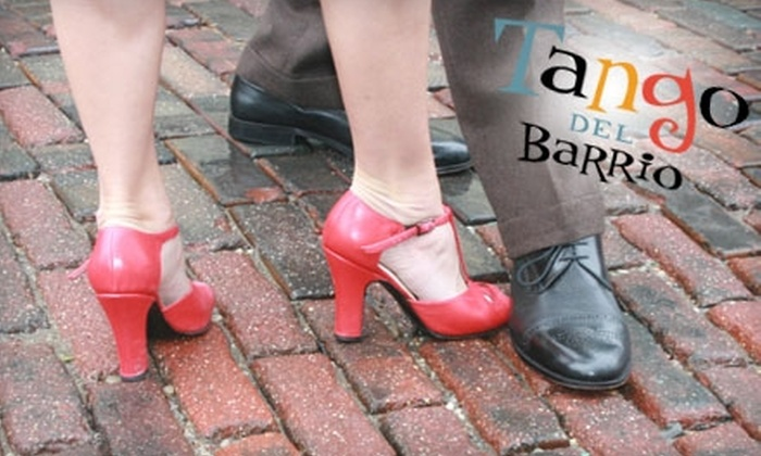 Tango Del Barrio - Northside: $20 for Four Weeks of Introductory Tango Classes at Tango del Barrio in Northside