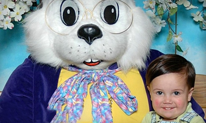 World Wide Photography - West End: $18 for Photos with the Easter Bunny and Print Package from World Wide Photography ($35.99 Value)