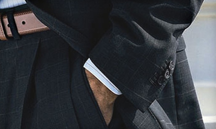 Executive's Cutting Edge - North Raleigh: Custom Coats, Suits, and Slacks from Executive's Cutting Edge (Up to 67% Off). Three Options Available.