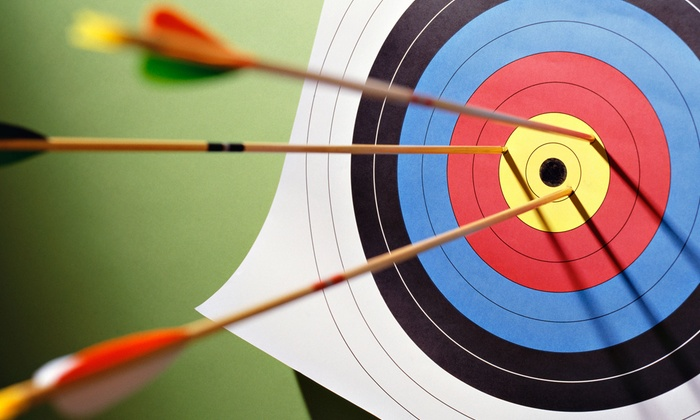 Cleland's Outdoor World - Monclova: Four One-Hour Group Archery Lessons for One or Two at Cleland's Outdoor World (Up to 54% Off)