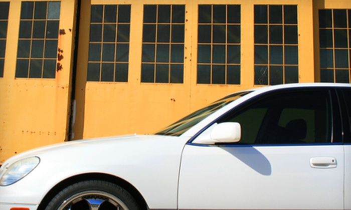 South Beach Auto Spa - Fourth Ward: 3M Window-Tinting Services at South Beach Auto Spa. Two Options Available.