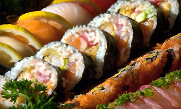 Dancing Wasabi - Hyde Park: Three-Course Sushi Dinner for Two or Four at Dancing Wasabi (Half Off)