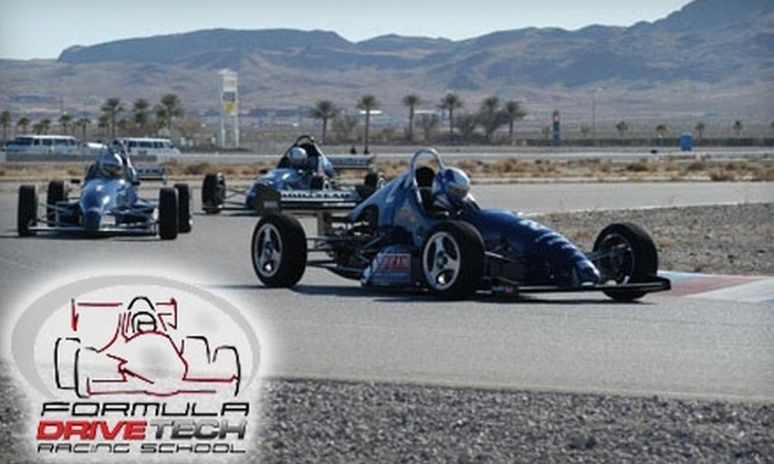 DriveTech Racing School - Joliet: $49 for a Ride-Along with Formula DriveTech ($99 Value) or $249 for an Intro Class ($499 Value)
