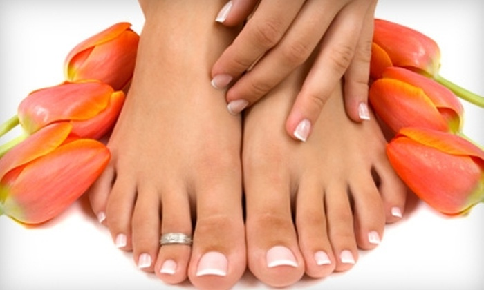 Salon Seven - Deer Park: $21 for Mani-Pedi at Salon Seven in Deer Park ($42 Value)