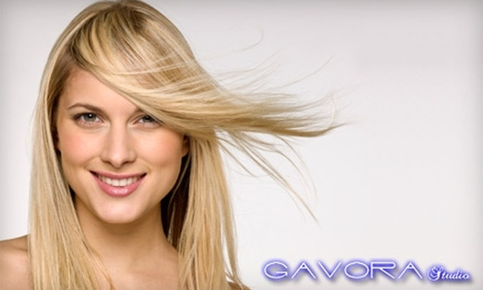 Gavora Studio - Manteca: $29 for a Haircut, Deep Conditioning, and Style at Gavora Studio (Up to $63 Value)