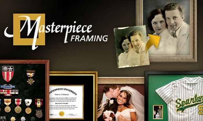 Masterpiece Framing - Chicago: $45 for $100 Worth of Custom Framing at Masterpiece Framing
