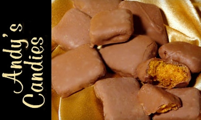 Andy's Candies - Multiple Locations: $10 for $20 Worth of Chocolates and Candies at Andy's Candies