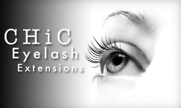 Chic Lashes - West Lake Hills: $125 for Complete Eyelash Makeover from Chic Lashes ($309 Value)