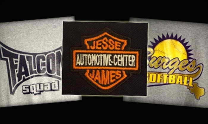 Correll Printing Inc. - Cielo Vista East: $15 for $30 Worth of Embroidery, Screen-Printing & More at Correll Printing Inc.