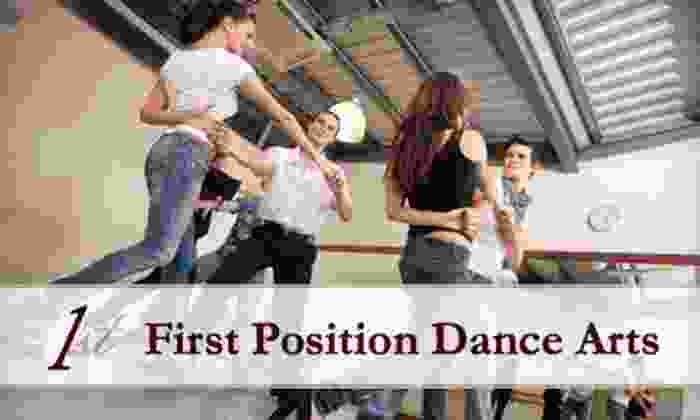 First Position Dance Arts - Ardmore: $22 for Five Classes at First Position Dance Arts ($75 Value)