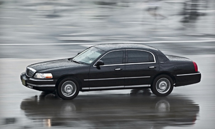 Park Avenue Limousines - Northwest Virginia Beach: Luxury Norfolk International Airport Transportation from Park Avenue Limousines (Up to 51% Off). Four Options Available.