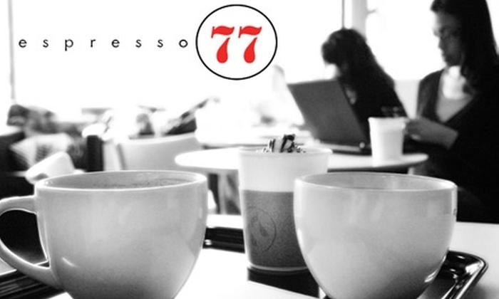 Espresso 77 - Jackson Heights: $2 for $4 Worth of Coffee, Frozen Custard & More at Espresso 77