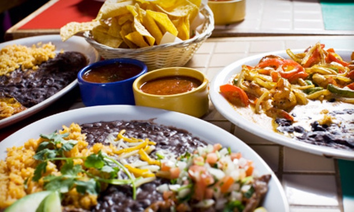 Carlos Cantina & Grill - Sidney: Mexican Meal for Two, Four, or Six People at Carlos Cantina & Grill