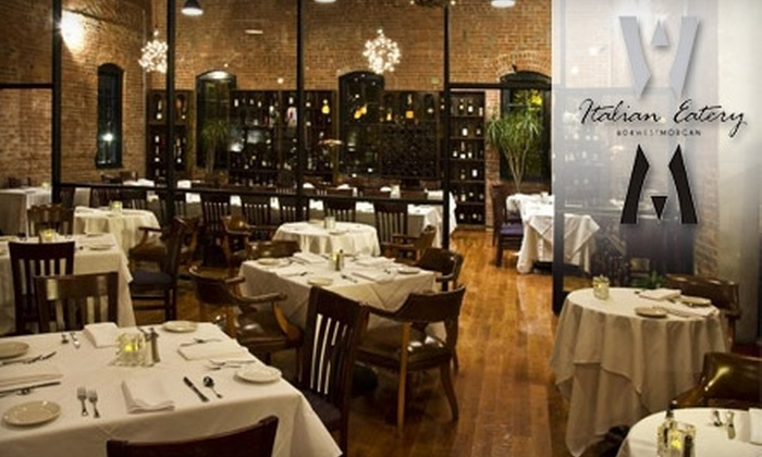 604 West Morgan Featuring Cinellis - Warehouse District: $20 for $40 Worth of Elegant Italian Fare and Drinks at 604 West Morgan Featuring Cinellis