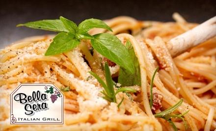 $30 Groupon to Bella Sera Italian Grill - Bella Sera Italian Grill in Sunset Hills