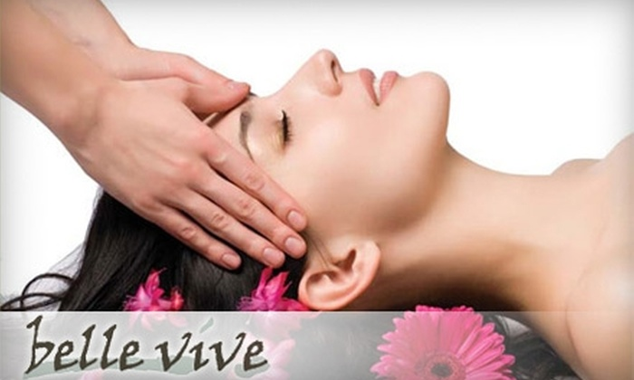 Belle Vive Spa & Wellness Centre - Fort Mill: $35 for a 60-Minute Massage ($75 Value) or $22 for a Woman's Cut and Style (Up to $45 Value) at Belle Vive Spa & Wellness Centre