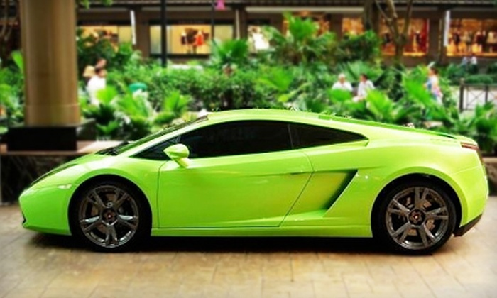 Beverly Hills Rent-a-Car - Multiple Locations: Full-Day Rental of Lamborghini or Mercedes from Beverly Hills Rent-A-Car. Three Locations Available.