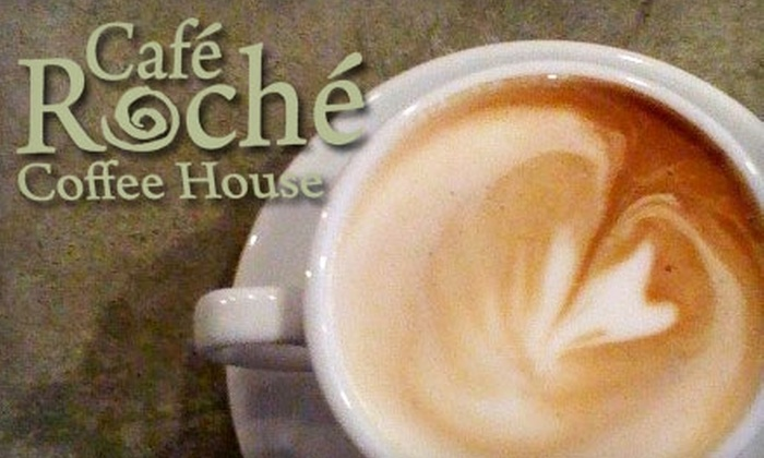 Café Roche - Ardmore: $5 for $10 Worth of Gourmet Coffee, Ice Cream, and More at Café Roche in Winston-Salem