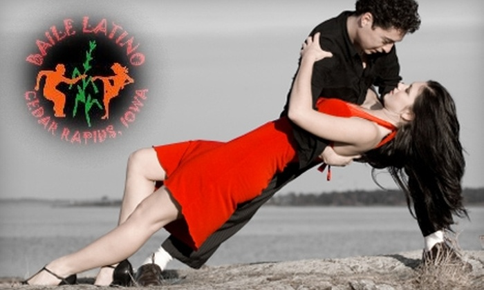 Baile Latino - Cedar Rapids: $5 for One Salsa Class from Baile Latino