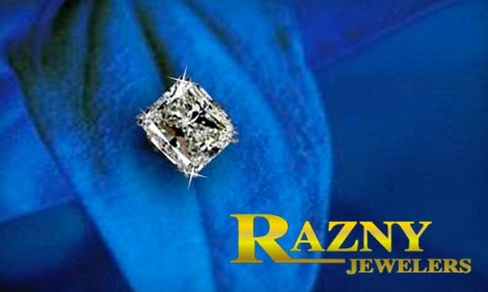 Razny Jewelers - Multiple Locations: $250 for $500 Worth of Jewelry and Accessories at Razny Jewelers. Three Chicago-Area Locations.