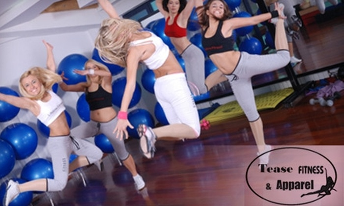 Tease Fitness - Bel Air South: $12 for Three Women's Fitness Classes of Your Choice at Tease Fitness in Abingdon ($34 Value)