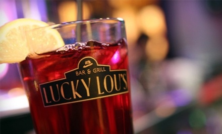 $50 Groupon to Lucky Lou's Bar & Grill - Lucky Lou's Bar & Grill in Wethersfield