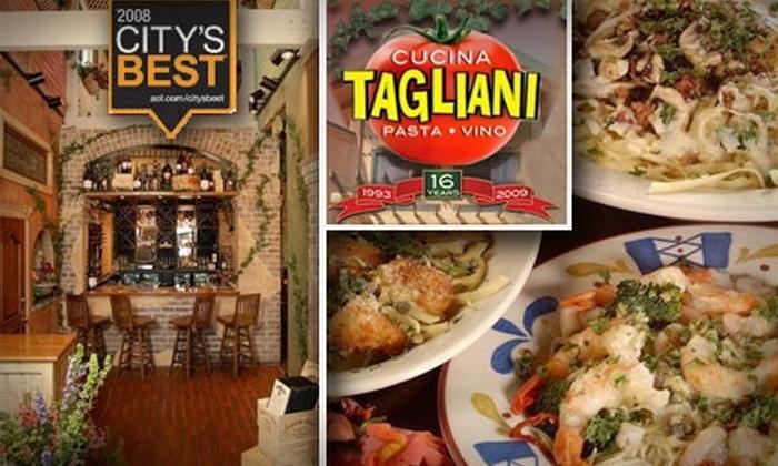 Cucina Tagliani  - Phoenix: $12 for $25 Worth of Dining & Drinks at Cucina Tagliani