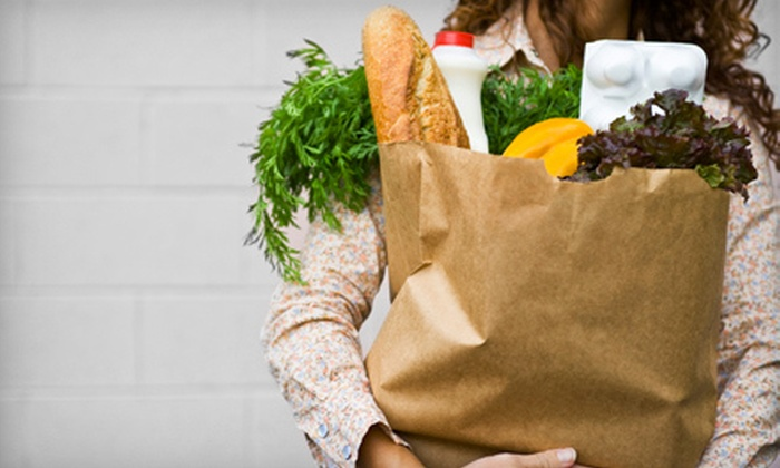 Whatever You Need! - Northampton: $25 for One Hour of Grocery Shopping and Delivery Service from Whatever You Need! ($50 Value)