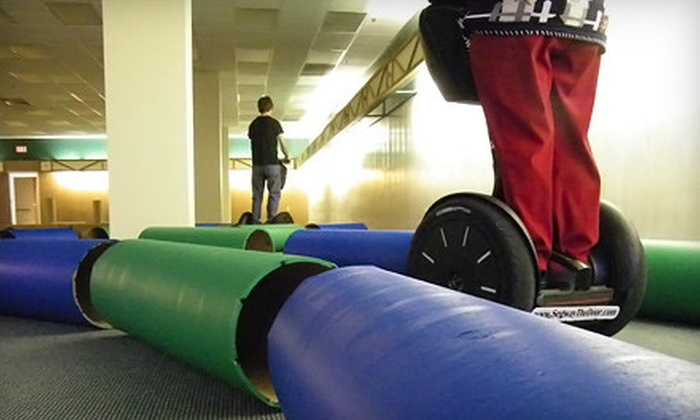 Segway the Fox - Multiple Locations: 30-Minute Indoor Segway Outing for Two or Four at Segway the Fox (Up to 54% Off)