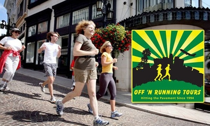 Off 'N Running Tours - Los Angeles: $50 for a Running from the Paparazzi Tour for Two People with Off 'N Running Tours