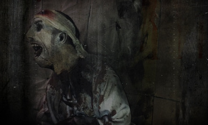 57% Off VIP Haunted House Outing For Two