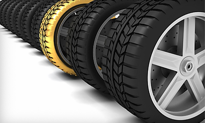 Metropolitan Tire - Pontiac: $139 for $299 Toward New Set of Four Tires, Wheels, or Rims or One Set of Used Tires Including Installation (Up to $500 Value) at Metropolitan Tire in Pontiac