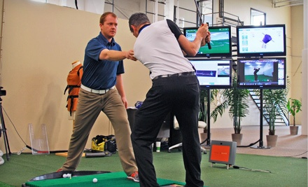 Package for 1 Golf Lesson and 1 Hour of Practice (a $175 value) - The Golf Lab in Vaughan