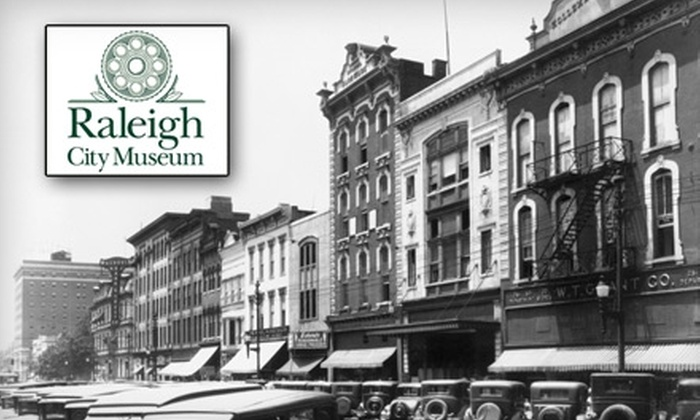 Raleigh City Museum - Central Raleigh: $25 for One Adult Annual Membership ($50 Value) or $50 for One Family Annual Membership ($100 Value) at the Raleigh City Museum