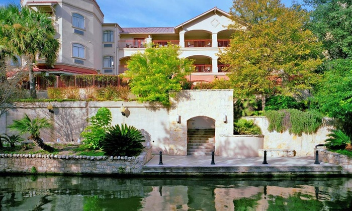 null - San Antonio: Stay with Daily Parking at Hotel Indigo San Antonio-Riverwalk in Texas. Dates Available into November.