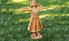 Joy Girl Rejoicing Garden Statue: Joy Girl Rejoicing Garden Statue