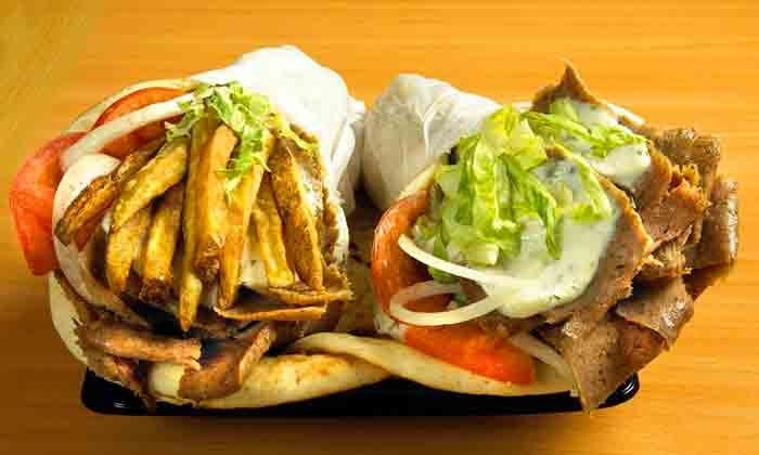 Gyros & Goodies - Washington: Five Gyro Meals or $10 for $20 Worth of Greek Food at Gyros & Goodies