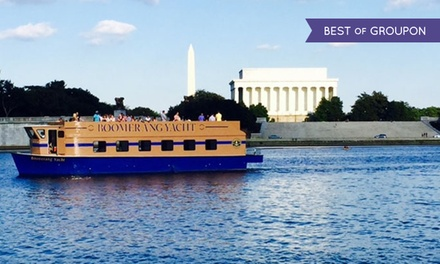 $14 for a Two-Hour Party Yacht Cruise for One from Boomerang Boat Tours ($27 Value)