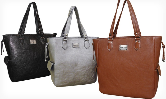Adrienne Vittadini Textured Laptop Totes: $39.99 for a Pebble-Grain Textured Laptop Tote in Black, Brown, or Pewter ($180 List Price). Free Shipping and Returns.