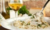 Toscana Cafe - Capitol Hill: Italian Dinner for Two or Four with One or Two Bottles ofWineat Toscana Cafe (46% Off)