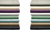 GROUPON: 350-Thread-Count Grace Home Fashions Pima Cotto... 350-Thread-Count Grace Home Fashions Pima Cotton 6-Piece Sheet Set