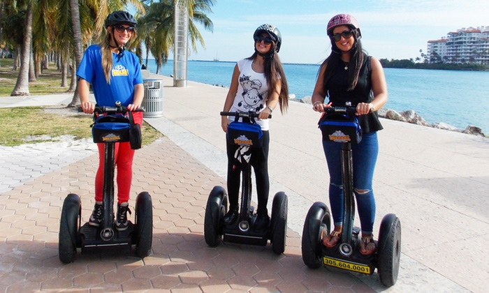 Bike and Roll - Miami: $34 for a Bayside Marketplace Segway Tour from Bike and Roll ($69 Value)