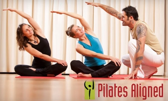 Pilates Aligned - Multiple Locations: $35 for Five Pilates Mat Classes at Pilates Aligned ($75 Value)